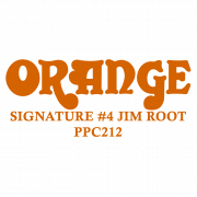 Orange 4 SIgnature cab 180x180 signature 4 jim root ppc212 speaker cabinet orange amps Custom Guitar Cabs at gsmx.co