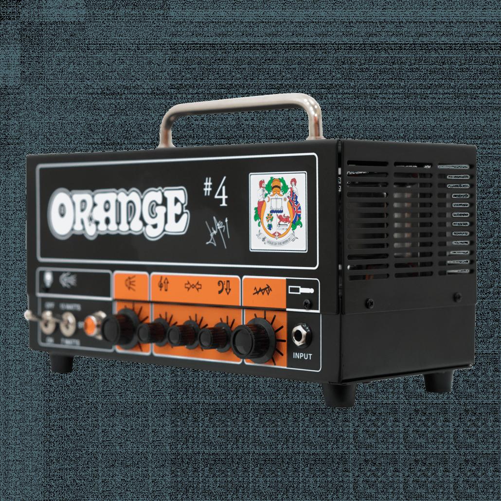Signature 4 Jim Root Terror Head Orange Amps
