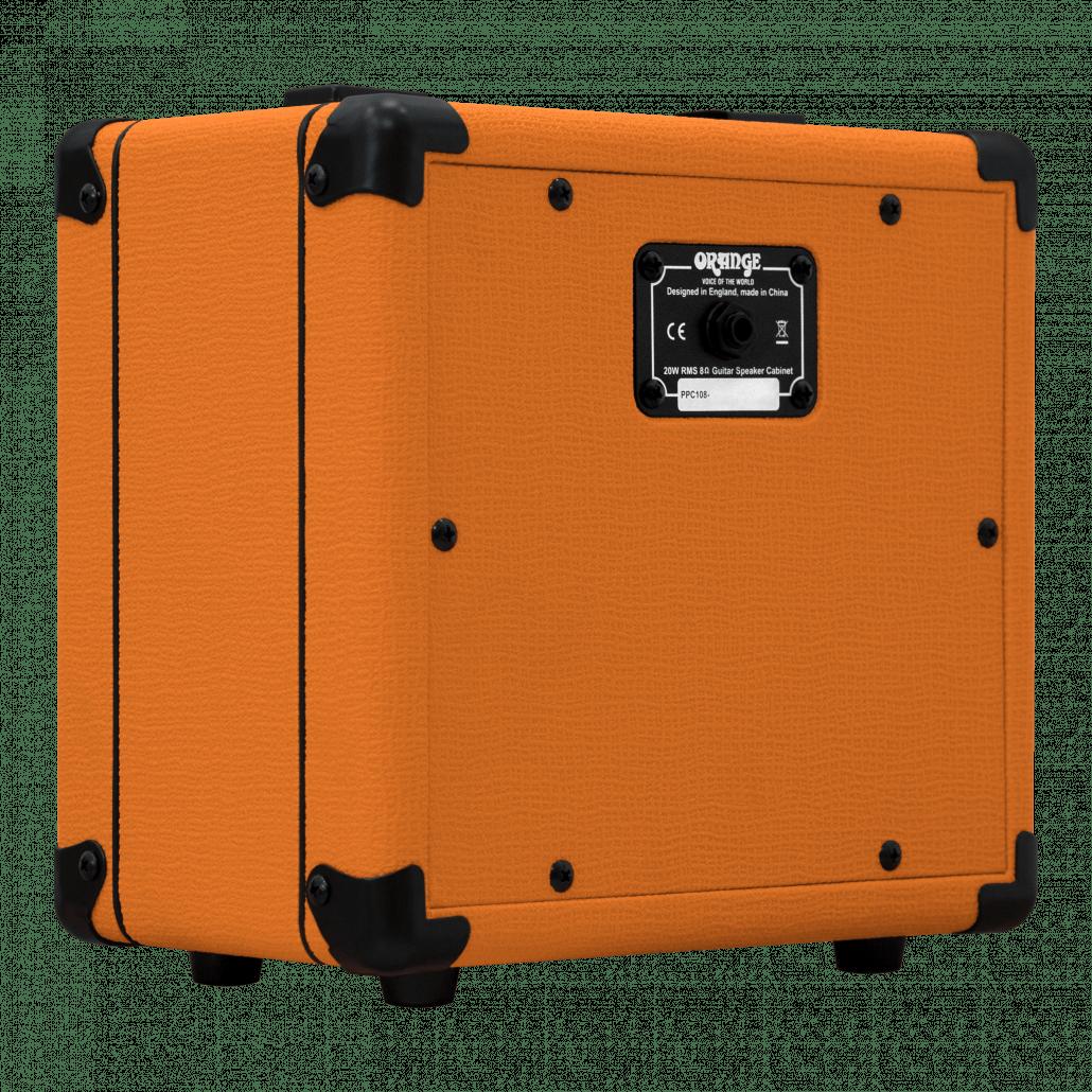 PPC108 1 x 8″ Closed Back Speaker Cabinet – Orange Amps