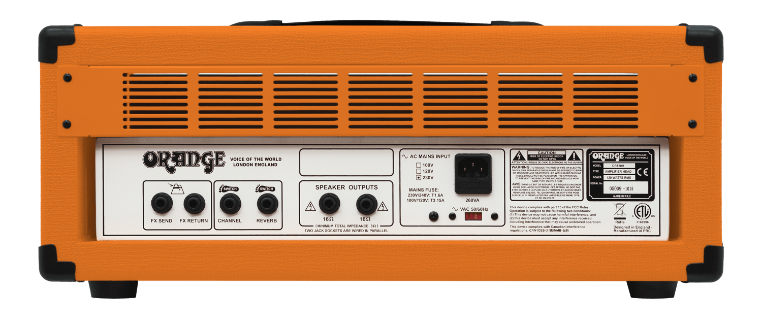 Crush Pro Series Manual – Orange Amps