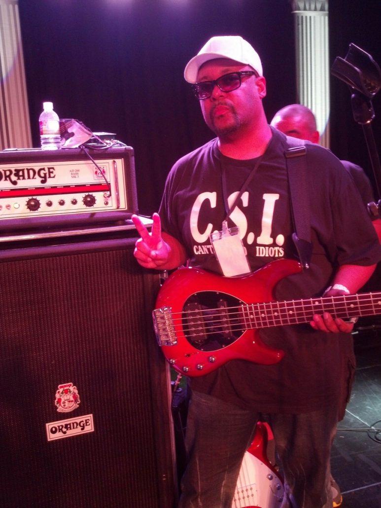 Morris Rentie Jr Of The Jacksons Orange Amps