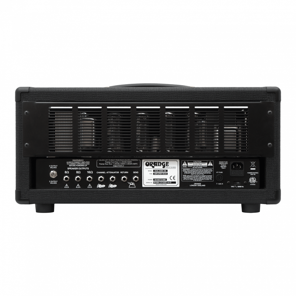 Dual Dark 50 100 Manual Orange Amps Amp Fuse Box Diagram Youtube 1