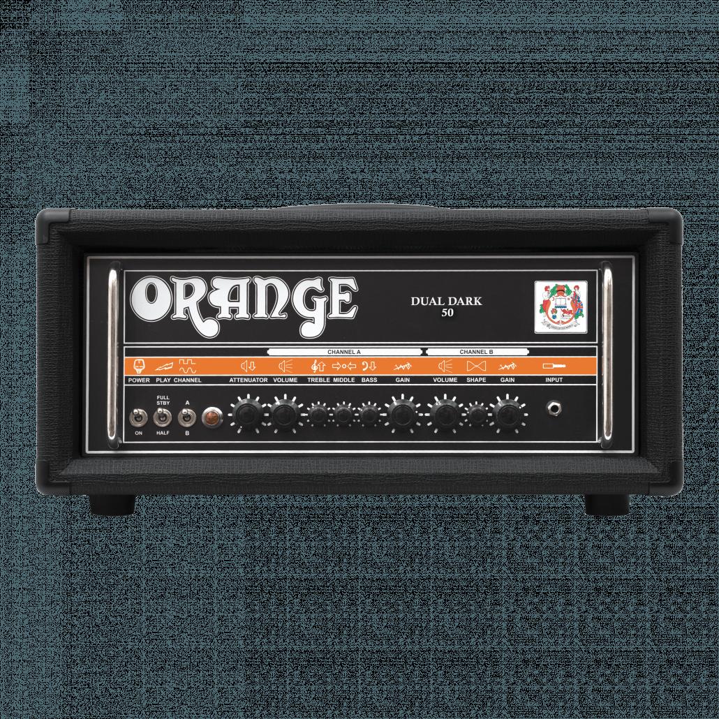 dual dark 50 orange amps