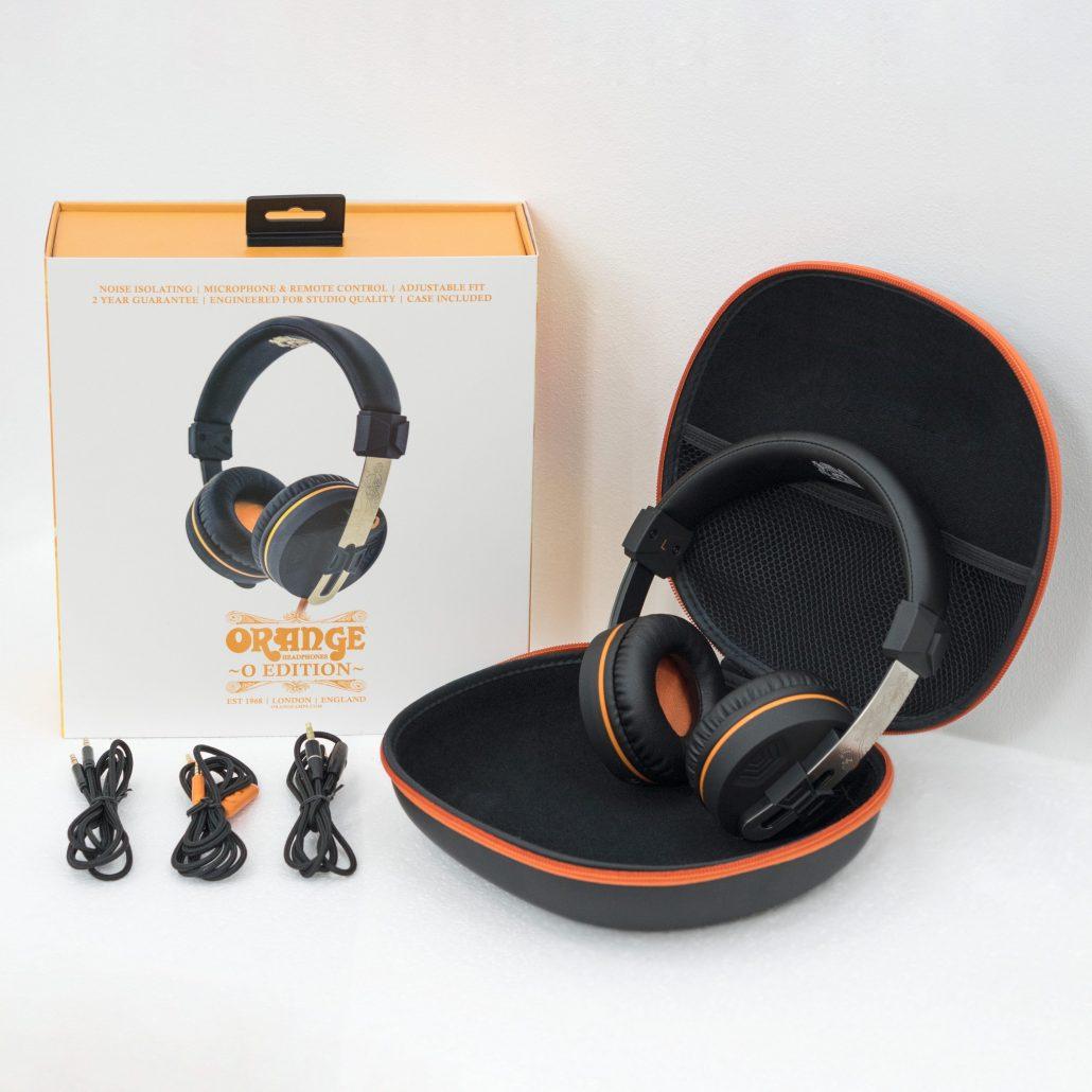 Orange O Edition Headphones – Orange Amps