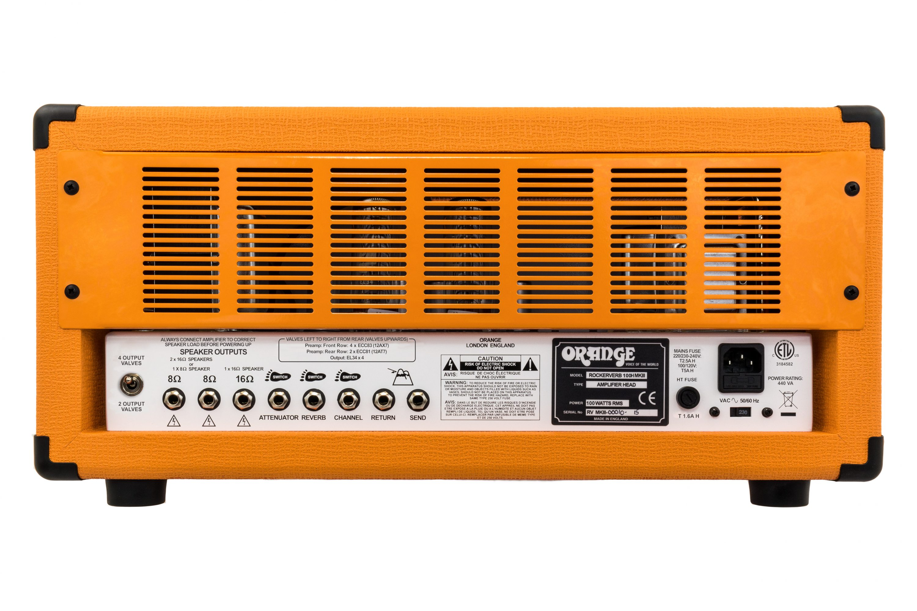 Rockerverb Mkiii Series Manual Orange Amps 3 Way Switch Wiring Diagram For Amp Standby 1