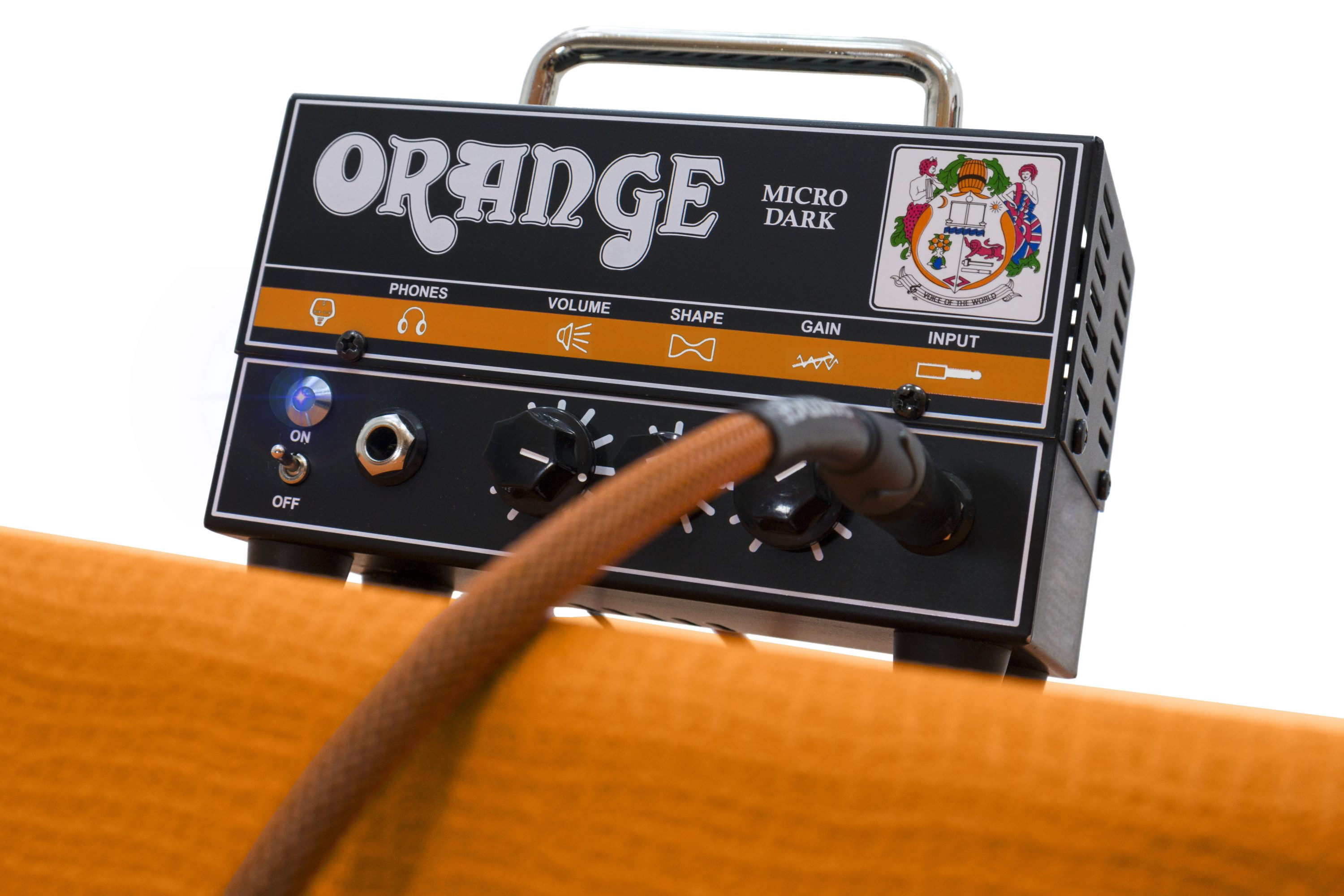 Orange Micro Dark 8 micro dark manual orange amps Custom Guitar Cabs at mifinder.co