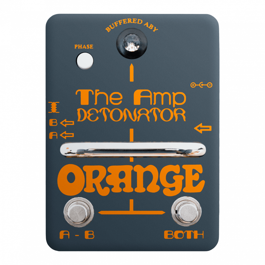 The Amp Detonator ABY. Products   Orange Amps