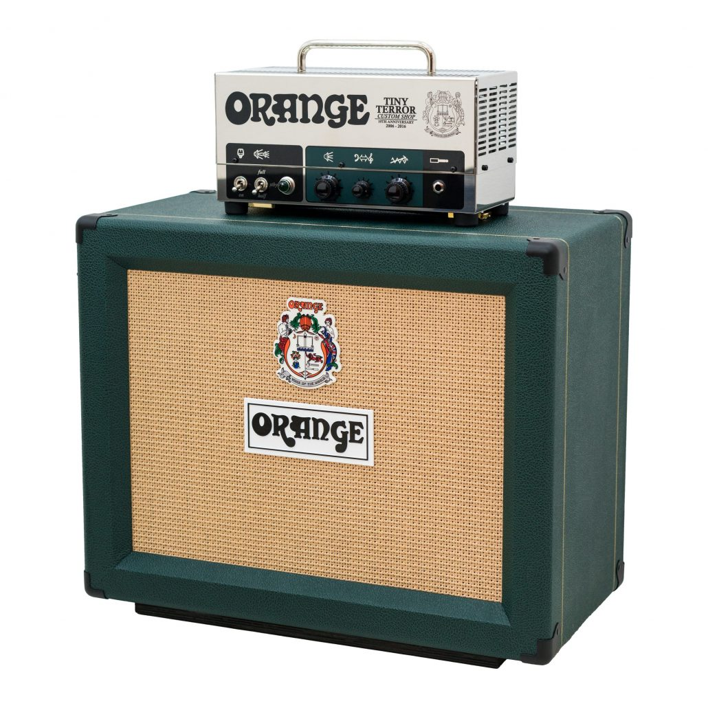 orange amplification launch 10th anniversary limited edition tiny terror half stack orange amps. Black Bedroom Furniture Sets. Home Design Ideas