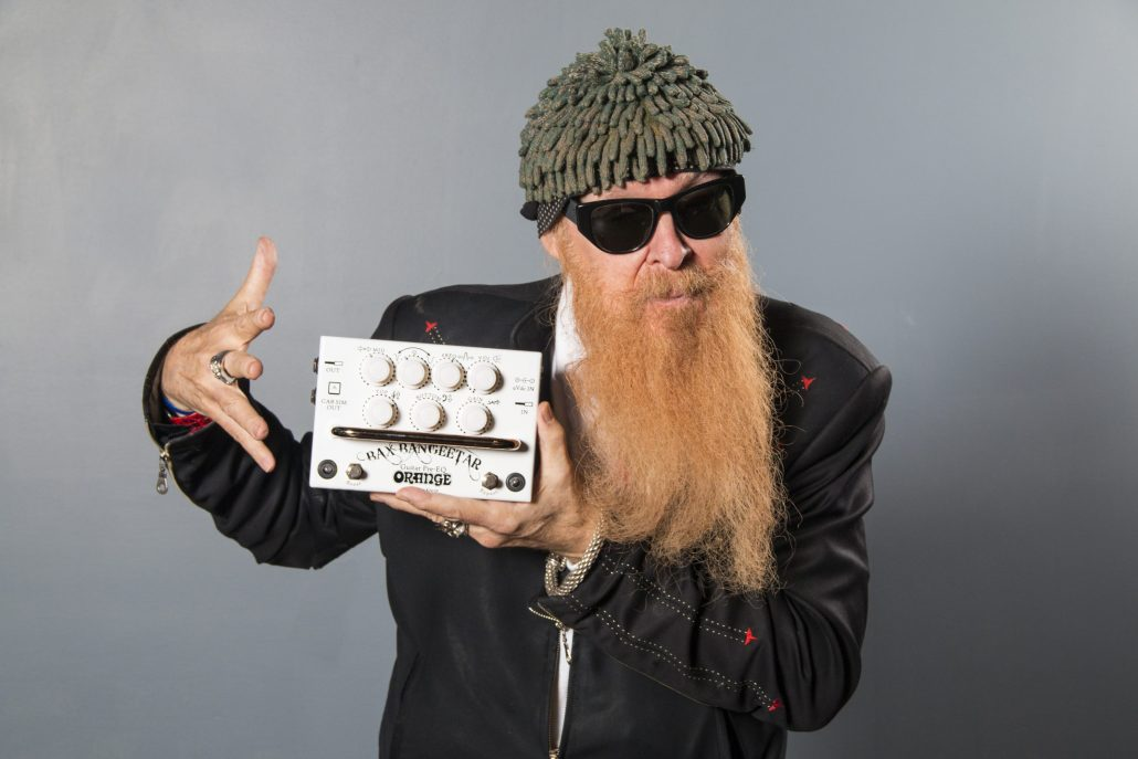 Billy Gibbons Of Zz Top Orange Amps