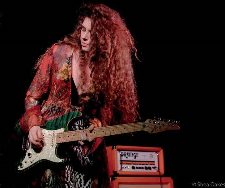 Hannah Wicklund Amp The Steppin Stones Orange Amps