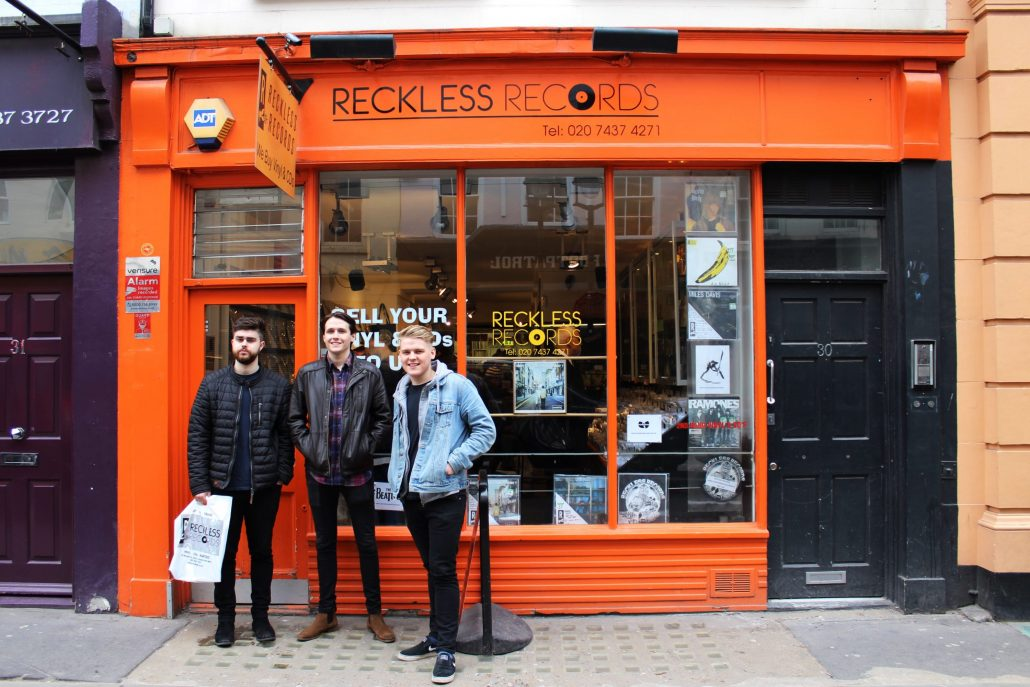 Record Store Day Special Fire Fences Orange Amps