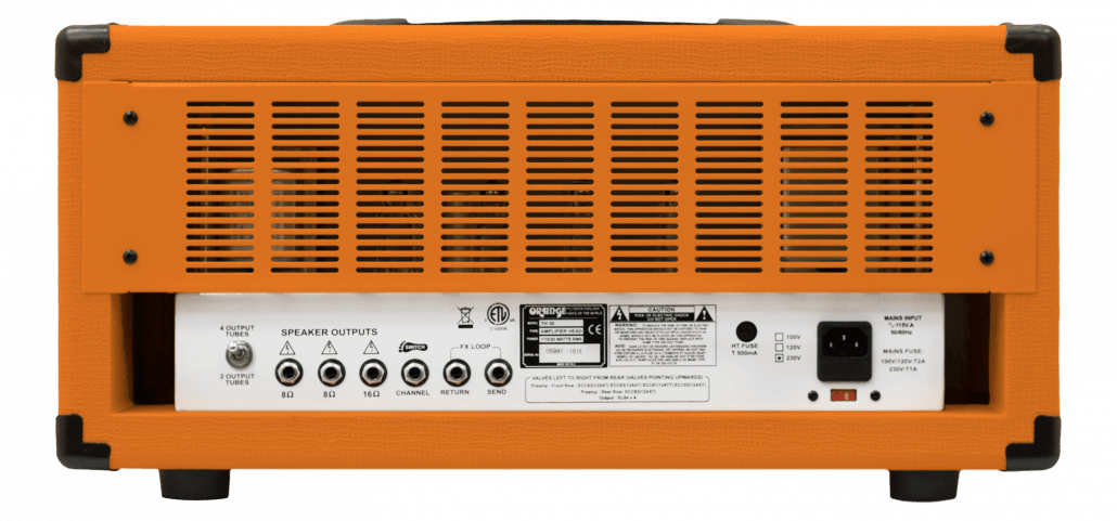TH30 Product Manual – Orange Amps