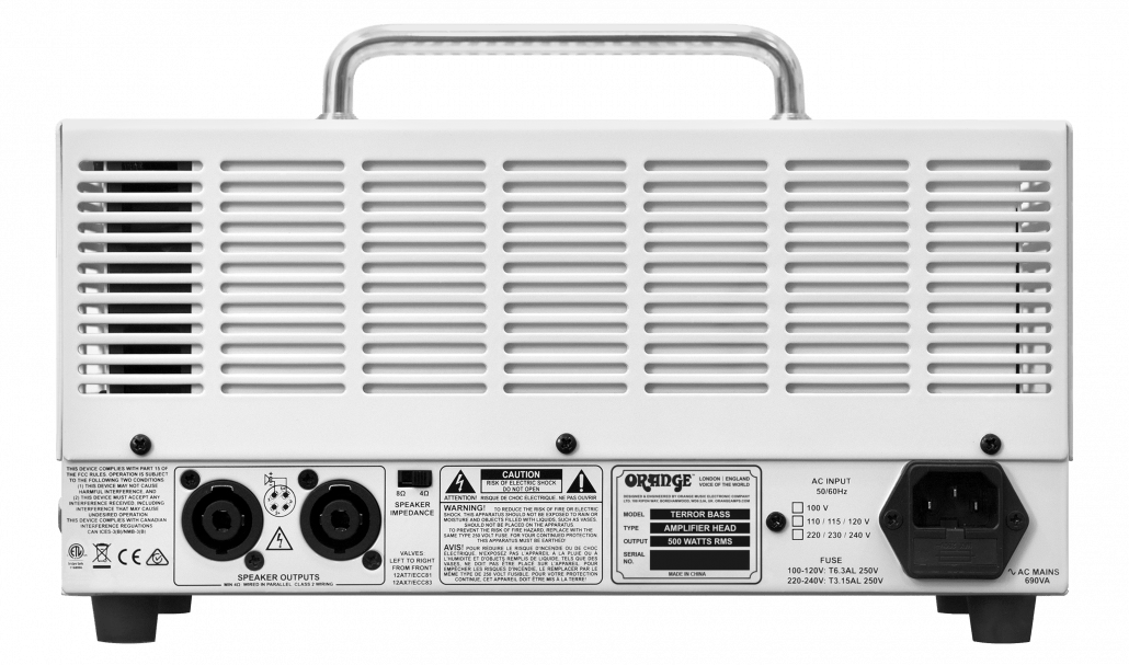 Terror Bass Manual – Orange Amps