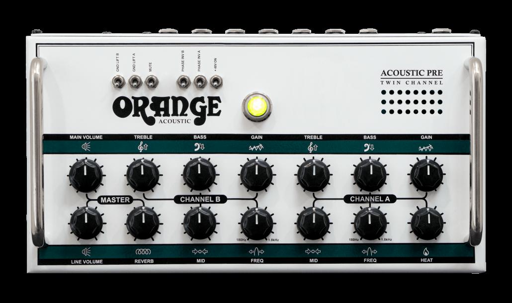 Acoustic Pre Twin Channel Manual – Orange Amps